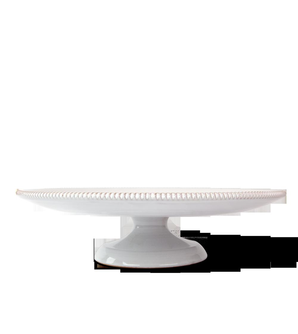 Alzatina Pizzo Bianca in ceramica di Enza Fasano - Olio E...