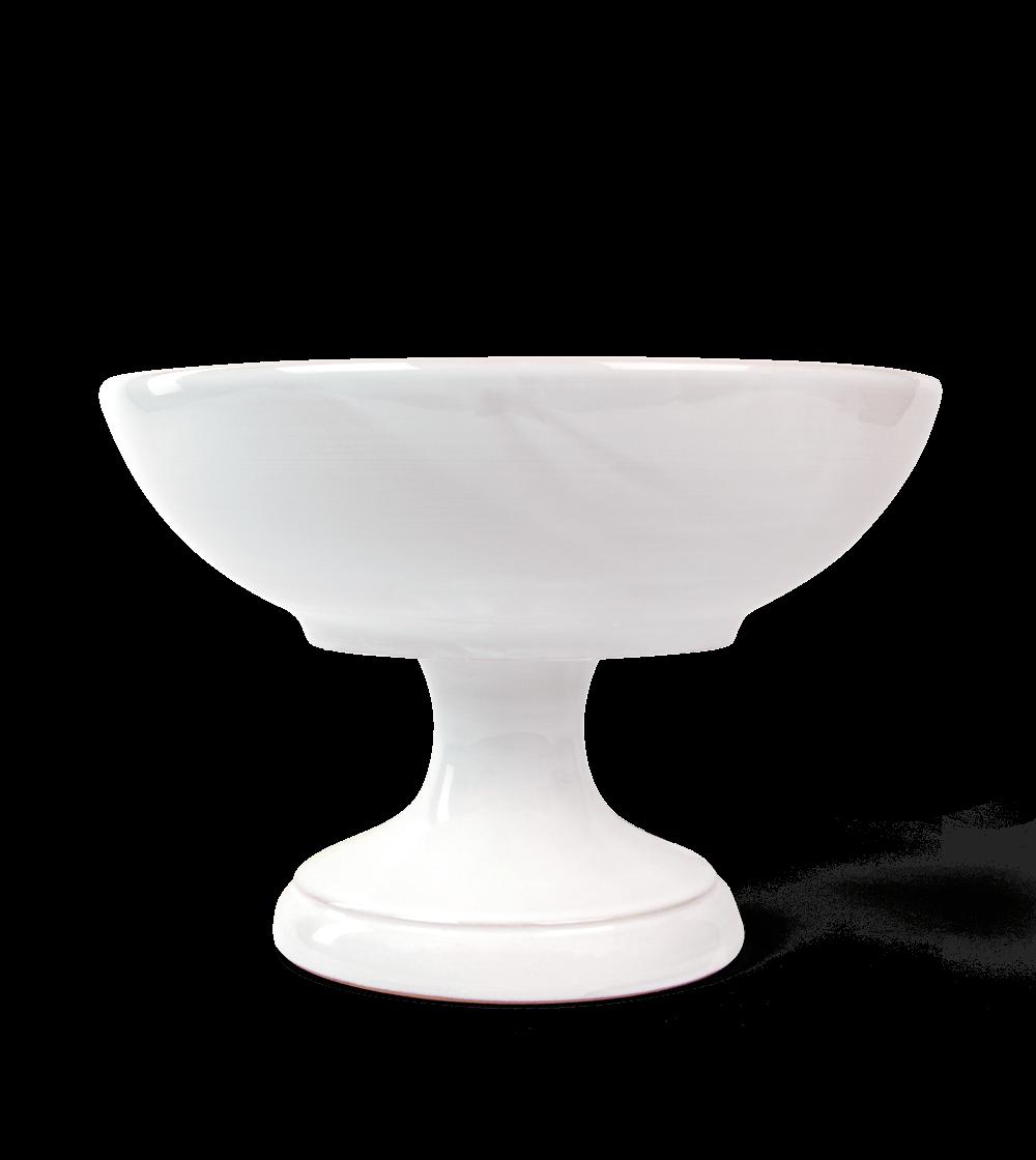 Alzatina Bianca in ceramica Cinzia Fasano - Olio E...